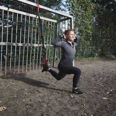 OUTDOOR-/ HOMEWORKOUT: DER SCHLINGENTRAINER  Die EINBEINIGE KNIEBEUGE für starke Beine und einen schönen Po - für das komplette Ganzkörperworkout folge dem Pin.