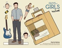 Girl' boys paperdolls. My favourite: charlie
