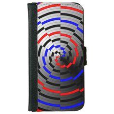 Spiral Cone iPhone 6 Wallet Case