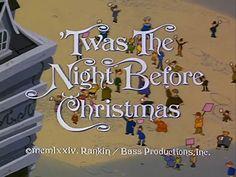 'Twas the Night Before Christmas - Rankin Bass, 1974