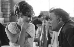 Claudia Cardinale - Federico Fellini