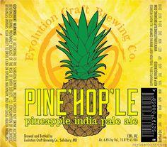 mybeerbuzz.com - Bringing Good Beers & Good People Together...: Evolution Craft - Pine'Hop'Le Pineapple IPA