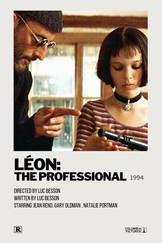 Léon: The Professional Polaroid Movie Poster