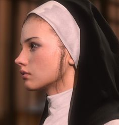 ArtStation - personal work ( The nun), Taewoong Kim Digital Portrait Human Reference, Anatomy Reference, Photo Reference, Design Reference, 3d Model Character, Character Modeling, Character Art, Character Design, Girl Face
