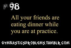 """Texting friends after practice (9:30) """"You haven't had dinner yet?!"""" """"No..."""""""
