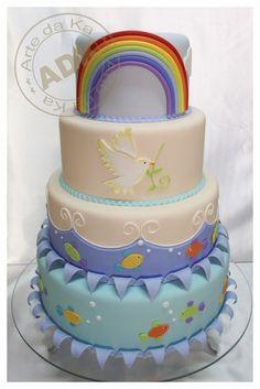 Cake del  Arca de Noé. Qué belleza de pastel!