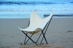 Airborne AA chair with white cotton cover