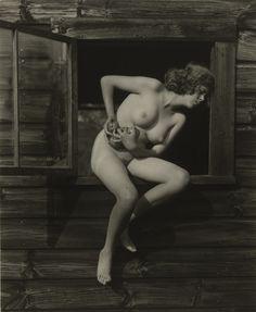Alfred Stieglitz. Portrait of Georgia Engelhard. 1922
