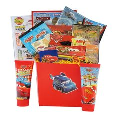 Gift Baskets - Pin it :-) Follow us, CLICK IMAGE TWICE for Pricing and Info . SEE A LARGER SELECTION of gift baskets at http://azgiftideas.com/product-category/gift-baskets/ - gift ideas , gift set -   Gifts for Boys - Disney Pixar Gift Baskets for Boys Under 10