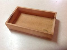 The Nature Store wood box tray Wood by Nezinscot by Laysdaysgoneby