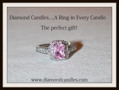 Diamond Candles. A #ring in every #candle....