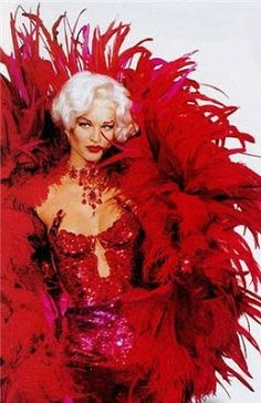 Blonde&Red: Madly In Love with Thierry Mugler Haute Couture...