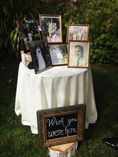 30 Wedding Photo Display Ideas You'll Want To Try Immediately diy wedding ideas to remeber those who passed away / www.deerpearlflow… The post 30 Wedding Photo Display Ideas You'll Want To Try Immediately appeared first on DIY Shares. Perfect Wedding, Fall Wedding, Dream Wedding, Wedding Vows, Wedding Venues, Trendy Wedding, Wedding Coordinator, Wedding 2017, Destination Wedding