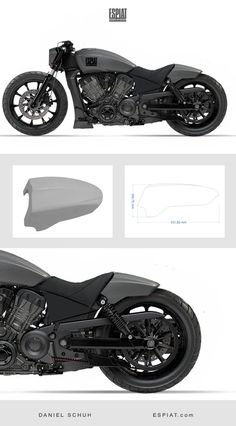 Rear fender design for individual Victory Octane rear conversion … – Cafe Racers Ideas Tracker Motorcycle, Bobber Motorcycle, Motorcycle Design, Bicycle Design, Indian Scout Custom, Indian Bobber, Bike Gadgets, Bobber Chopper, Chopper Cruiser