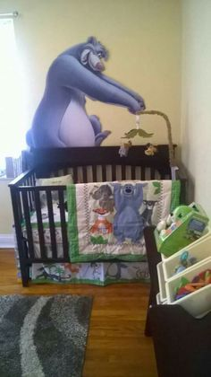 the jungle book crib bedding set for baby personalizable look