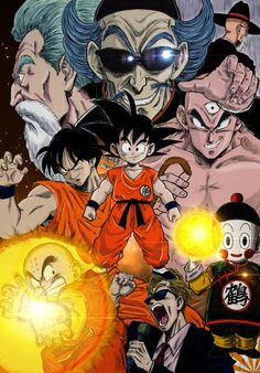 A while back I had found this amazing artwork. This is the first time I've found it in color, however. Truly amazing.  #SonGokuKakarot