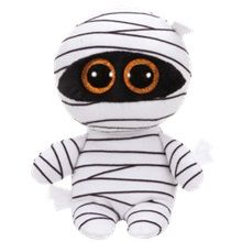 Ty Beanie Babies Boos 37234 Mummy the White Mummy Halloween Boo: Dimensions x x Beanie Boos Names, Peluche Lion, Ty Beanie Boos Collection, Ty Stuffed Animals, Ty Babies, Beanie Buddies, Halloween Boo, Halloween 2018, Couture