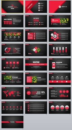 25+ Black Design graphic PowerPoint templates – The highest quality PowerPoint Templates and Keynote Templates download