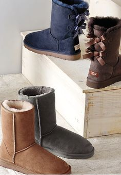so many Uggs! http://rstyle.me/n/qmj74r9te