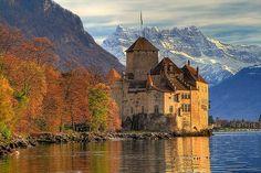 Montreux. Chateau de Chillon