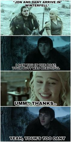 Creepy Bran, Game of Thrones. Game Of Thrones Meme, Game Of Thrones Poster, Got Memes, Funny Memes, Funny Quotes, Life Quotes, Hilarious, Quotes Sherlock, Jon Snow