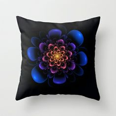 Dark Beauty Throw Pillow by Lyle Hatch - $20.00