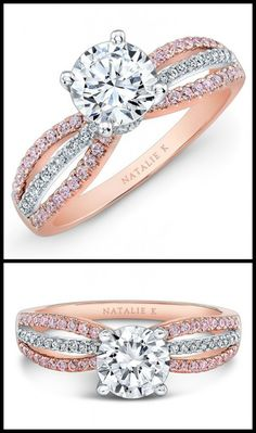 Ring roundup: rose gold engagement rings. - Diamonds in the Library