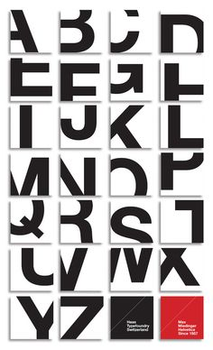 Striking Typographic Poster Literally Zooms Into The Letters Of Helvetica - DesignTAXI.com