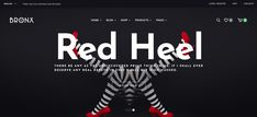 Bronx Red Heels, Hush Hush, Wordpress, Red High Heels