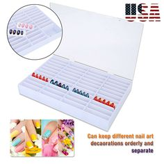 US Warehouse - Baby. Function: Storage Box for Nail Art Decorations and Other Uses. Can keep different nail art decorations orderly and separate. Container Organization, Storage Containers, Storage Boxes, Manicure Tools, Nail Tools, Baby Baby, Baby Toys, Nail Dust Collector, Nail Art Machine