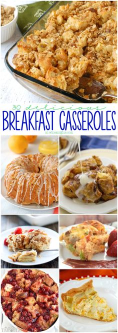Thirty delicious Breakfast Casseroles that just made your weekend a little easier and a lot more tasty!