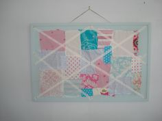 Very Shabby Chic noticeboard Shabby Chic, Frame, Projects, Diy, Home Decor, Picture Frame, Log Projects, Blue Prints, Decoration Home