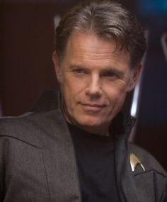 Bruce Greenwood as Captain Christopher Pike from the 2009 Star Trek movie. Star Trek 2009, New Star Trek, Star Trek Series, Star Wars, Star Trek Tos, Tv Series, Star Trek Beyond, Hells Kitchen, Bruce Greenwood