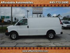 Used 2008 Chevrolet Express 2500 Cargo for Sale in Myrtle Beach SC 29577…