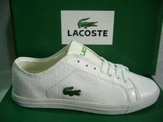Zapatos Lacoste Hombre RU43 Zapatos Bajas Lacoste Hombre Con Cordones  Blanco Color Puro y Mejor Zapatos 6004010d936