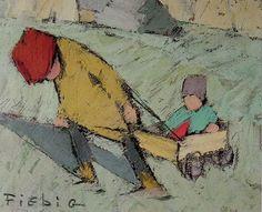 Children trolley - Ladevèze - Lescar - Frédéric FIEBIG