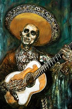 La Serenata by George Yepes. National Museum of Mexican Art.