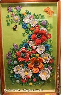 Картина, панно, рисунок Квиллинг: Наши новые работы :))) :)))) Бумага. Фото 1