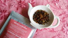 White Nectarine White Tea - David's Tea Spring 2016 Collection Review | Teacups & Travels Davids Tea, Teacups, Spring 2016, Lifestyle Blog, Tableware, Collection, Dinnerware, Tablewares, Dishes