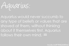 THE WORLD OF ASTROLOGY: Aquarius