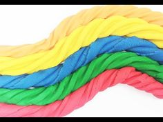 Play-Doh Rainbow Learn Colors with Play-Doh