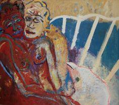 Porque hoje é sabado-  1998 125x138 Painting, Contemporary Art, Artists, Paintings, Painting Art, Painted Canvas