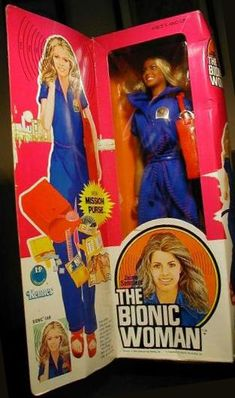 Bionic Woman Doll: the skin on her arm rolled up so you could pop out her microchip!