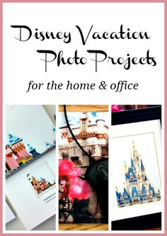 Easy Disney Vacation Photo Projects - great ideas and fun apps to try
