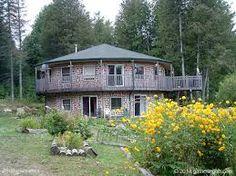 Výsledek obrázku pro cordwood houses
