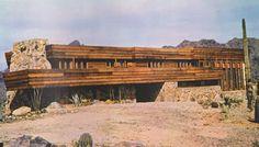 Building the Pauson House,Frank Lloyd Wright,Rose Pauson,Arizona desert,Allan Wright Green Prairie Style Architecture, Organic Architecture, Amazing Architecture, Architecture Design, Frank Lloyd Wright Buildings, Frank Lloyd Wright Homes, Phoenix Arizona, Usonian House, Beton Design
