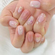 Japanese Nail Art Idea Japanese Nail Art IdeaYou can find Japanese nails and more on our website. Nail Art Diy, Easy Nail Art, Diy Nails, Manicure, Bling Nails, Japanese Nail Design, Japanese Nail Art, Soft Nails, Simple Nails