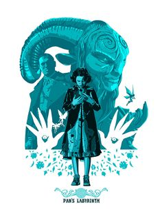 Pans Labyrinth : Hero Complex Gallery – Imagined Worlds #PansLabyrinth