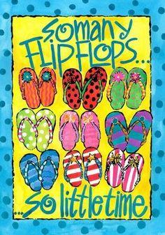 Flip Flops. I miss them... Hurry up summer!
