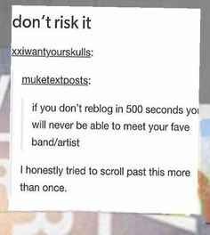 I don't know how many times I have repinning this... But I repin it every time I see it because I can't risk it.